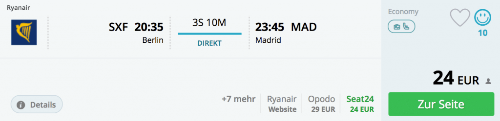 14.02., Berlin-Schönefeld - Madrid