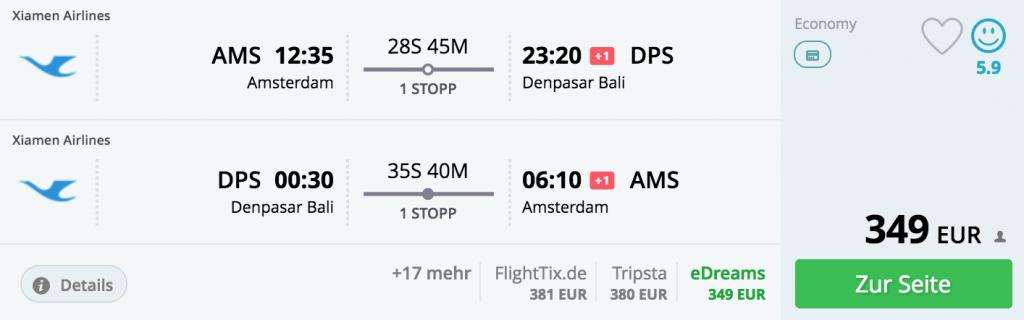 Bali: 349 Euro. Jetzt buchen!