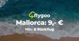 Juli & August: Flüge nach Mallorca ab nur 9 €!
