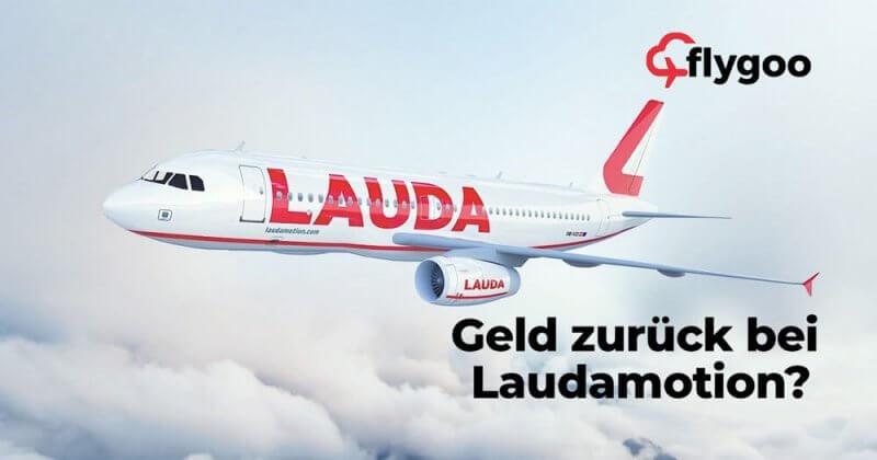 Geld zurück bei Laudamotion