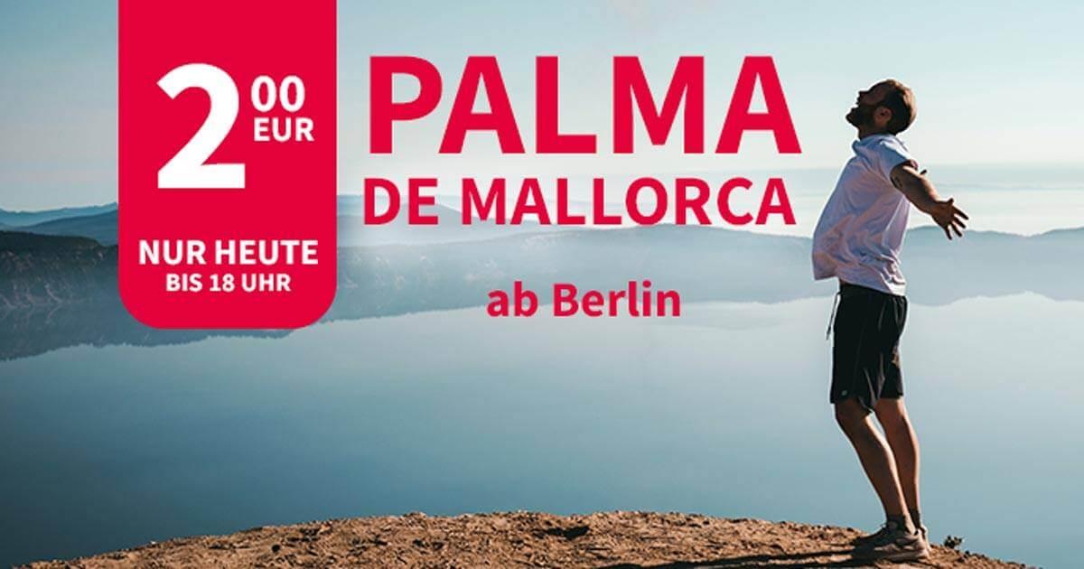 Palma ab 2 Euro