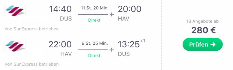 Düsseldorf- Havanna