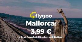 März & April: Flüge nach Mallorca für nur 3,99 €