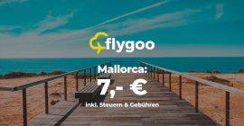 Mai & Juni: Flüge nach Mallorca ab nur 7,00 €!