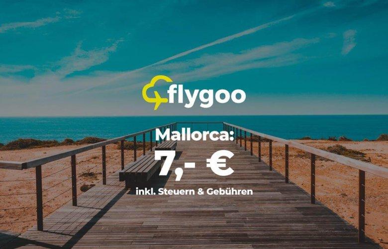 Flug nach Mallorca für nur 7 Euro!