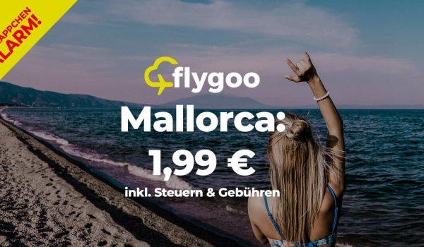 Super-Schnäppchen: Für 1,99 € nach Mallorca!